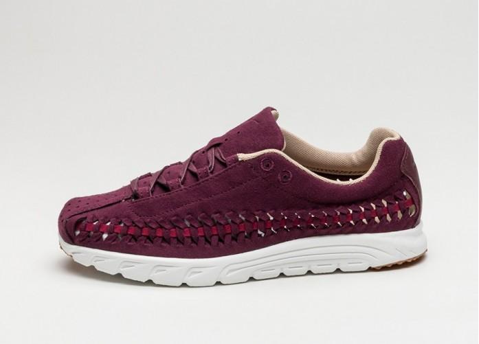 Мужские кроссовки Nike Wmns Mayfly Woven (Night Maroon / Noble Red - Elm - Summit White) | Интернет-магазин Sole