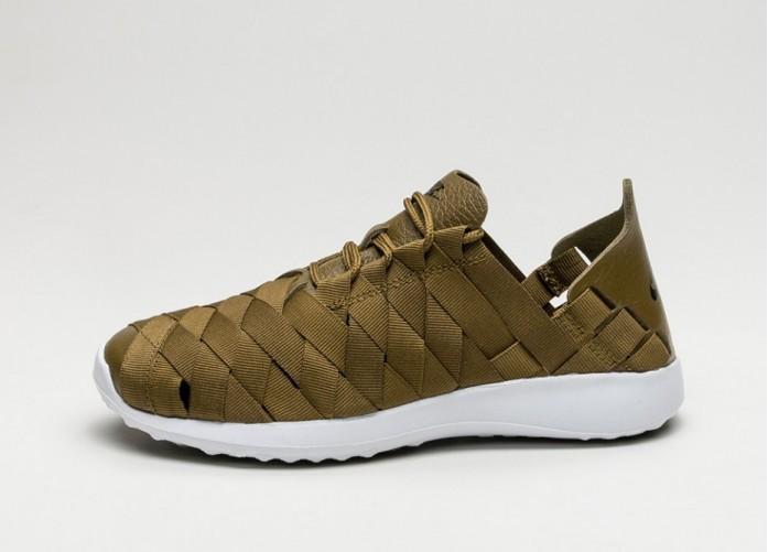 Мужские кроссовки Nike Wmns Juvenate Woven (Olive Flak / Black - White)   Интернет-магазин Sole