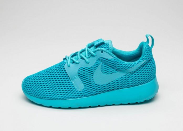 Мужские кроссовки Nike Wmns Roshe One Hyp BR (Gamma Blue / Gamma Blue - Blue Lagoon) | Интернет-магазин Sole