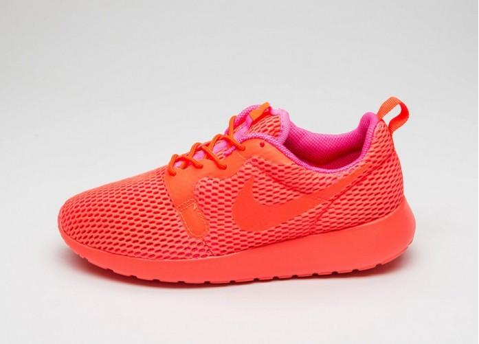 Мужские кроссовки Nike Wmns Roshe One Hyp BR (Total Crimson / Total Crimson - Pink Blast)   Интернет-магазин Sole