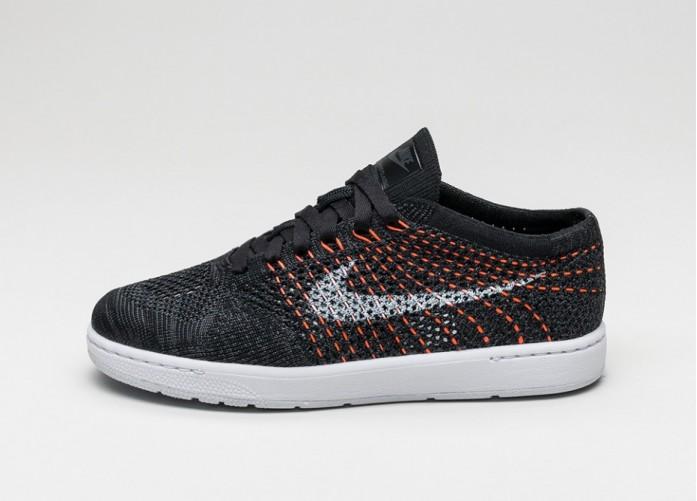 Мужские кроссовки Nike Wmns Tennis Classic Ultra Flyknit (Black / White - Anthracite) | Интернет-магазин Sole