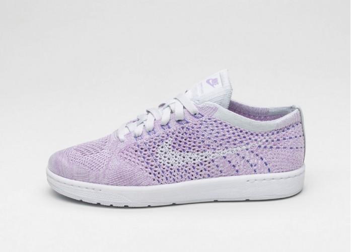 Мужские кроссовки Nike Wmns Tennis Classic Ultra Flyknit (Pure Platinum / White) | Интернет-магазин Sole