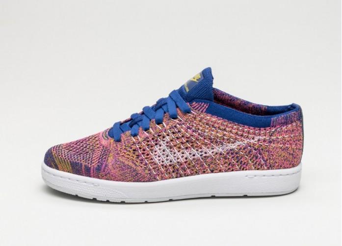 Мужские кроссовки Nike Wmns Tennis Classic Ultra Flyknit (Deep Royal Blue / White - Pink Blast) | Интернет-магазин Sole