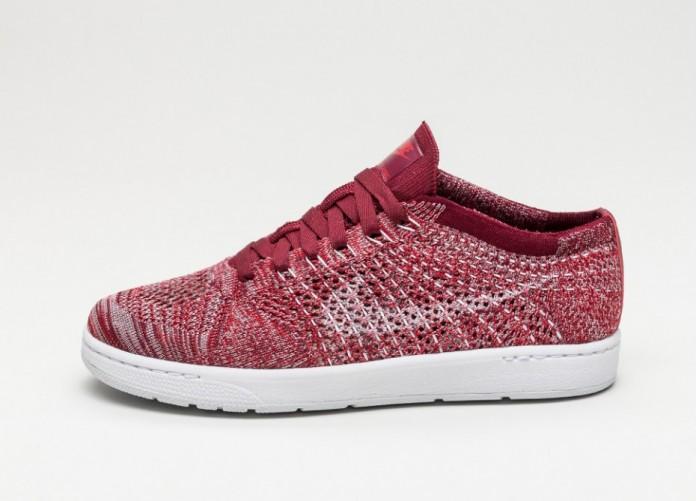 Мужские кроссовки Nike Wmns Tennis Classic Ultra Flyknit (Team Red / White - Plum Fog - Team Red) | Интернет-магазин Sole