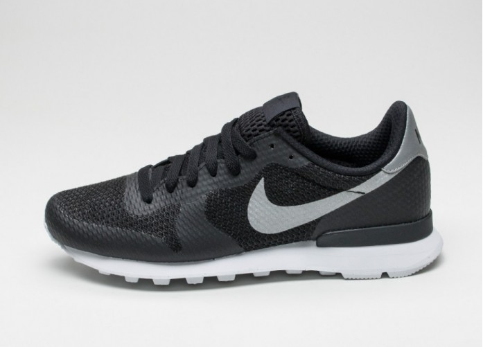 Мужские кроссовки Nike Internationalist NS (Black / Metallic Silver - Flat Silver - White) | Интернет-магазин Sole