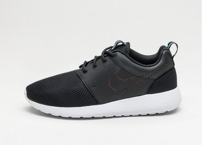 Мужские кроссовки Nike Wmns Roshe One PRM (Black / Black - Blue Tint)   Интернет-магазин Sole