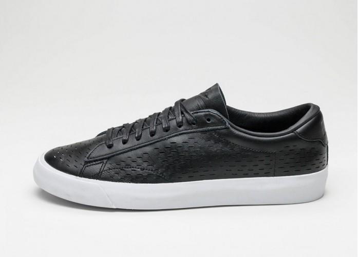Мужские кроссовки Nike Tennis Classic AC HT Laser (Black / Black - White) | Интернет-магазин Sole