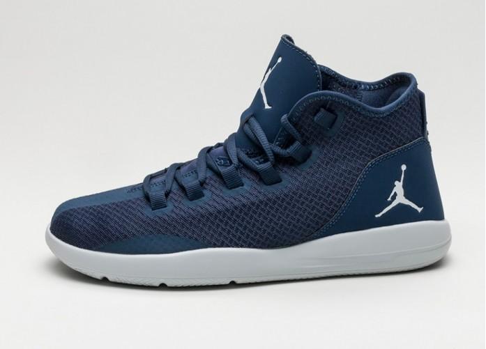 Мужские кроссовки Nike Jordan Reveal (Navy / Pure Platinum - Infrared 23) | Интернет-магазин Sole