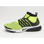 Мужские кроссовки Nike Air Presto Flyknit Ultra (Volt / Black - White), фото 1 | Интернет-магазин Sole