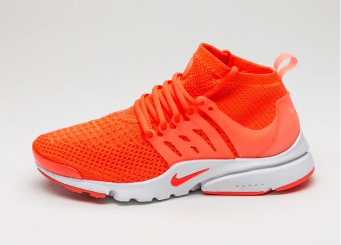 Мужские кроссовки Nike Air Presto Flyknit Ultra (Total Crimson / Total Crimson - White - Pink) | Интернет-магазин Sole