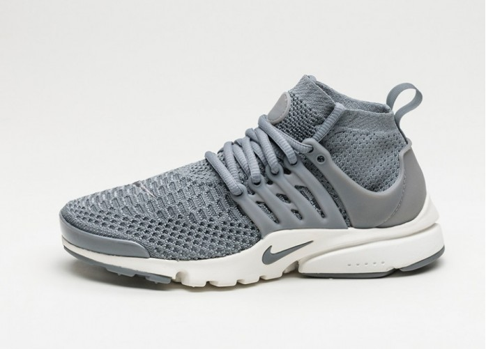 Мужские кроссовки Nike Wmns Air Presto Flyknit Ultra (Cool Grey / Cool Grey - Summit White) | Интернет-магазин Sole
