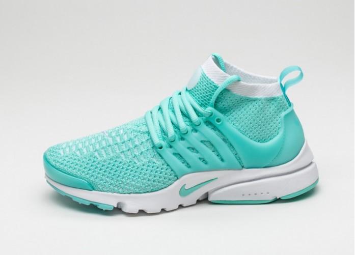 Мужские кроссовки Nike Wmns Air Presto Flyknit Ultra (Hyper Turquoise / Hyper Turquoise - White) | Интернет-магазин Sole