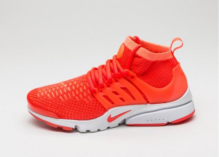Мужские кроссовки Nike Wmns Air Presto Flyknit Ultra (Bright Mango / Bright Crimson) | Интернет-магазин Sole