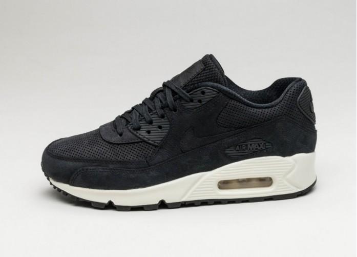 Мужские кроссовки Nike Wmns Air Max 90 Pinnacle (Black / Black - Sail)   Интернет-магазин Sole