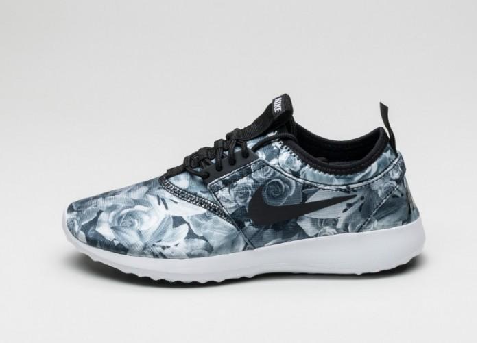 Мужские кроссовки Nike Wmns Juvenate Flo Print (Black / Black - White)   Интернет-магазин Sole