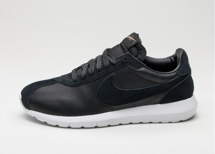 Мужские кроссовки Nike Roshe LD-1000 Premium QS (Black / White - Metallic Gold - Dark Grey) | Интернет-магазин Sole
