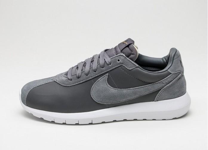 Мужские кроссовки Nike Roshe LD-1000 Premium QS (Dark Grey / White - Metallic Gold - Black)   Интернет-магазин Sole