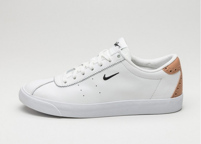 Мужские кроссовки Nike Match Classic Suede (Summit White / Black - Vachetta Tan) | Интернет-магазин Sole
