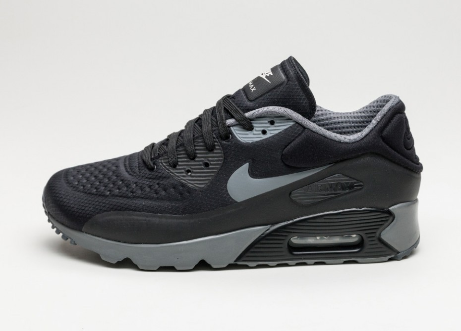 eeb4ecf8 Мужские кроссовки Nike Air Max 90 Ultra SE (Black / Dark Grey - Black -