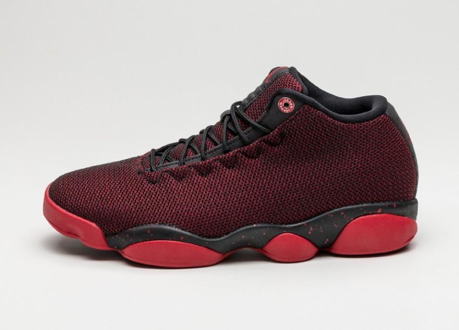 f73f6dadfdb8 Мужские кроссовки Nike Jordan Horizon Low (Black   Gym Red - White)    Интернет