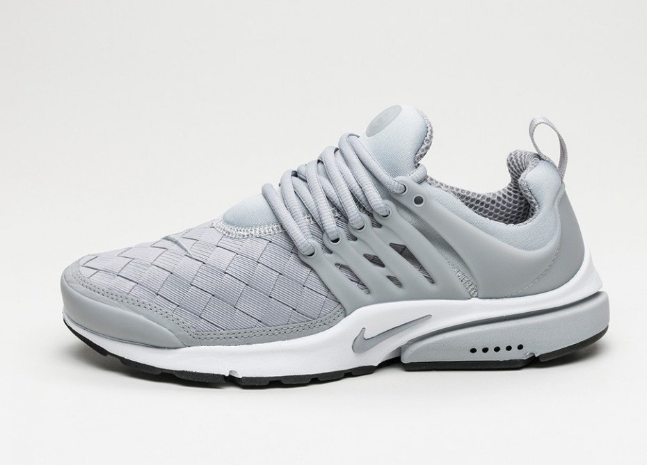 23f7651f Мужские кроссовки Nike Air Presto SE (Wolf Grey / Wolf Grey - Black - White