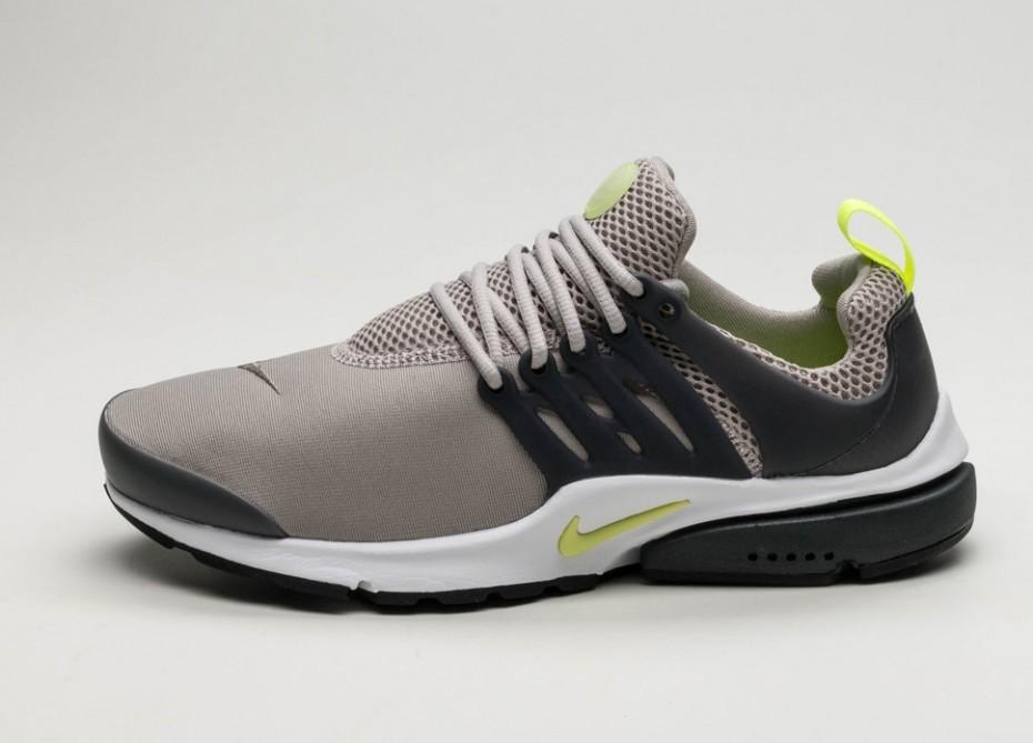 new product 897de 6c77a Мужские кроссовки Nike Air Presto Essential (Cobblestone   Volt - Anthracite  - White)