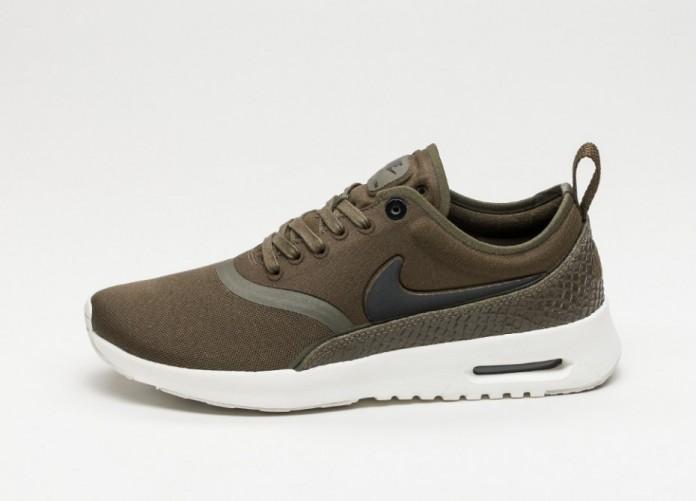 Мужские кроссовки Nike Wmns Air Max Thea Ultra PRM (Dark Loden / Black - Ivory)   Интернет-магазин Sole