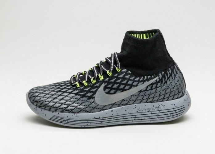 Мужские кроссовки Nike Wmns Lunarepic Flyknit Shield (Black / Metallic Silver - Dark Grey - Stealth) | Интернет-магазин Sole