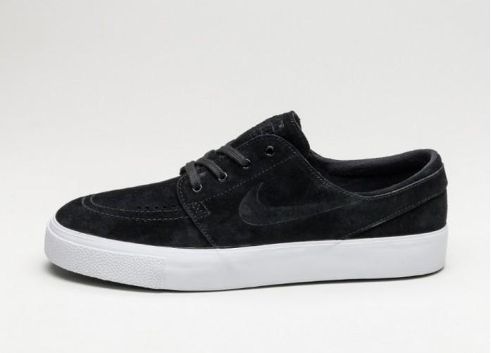 Мужские кроссовки Nike SB Zoom Janoski HT (Black / Black - White) | Интернет-магазин Sole