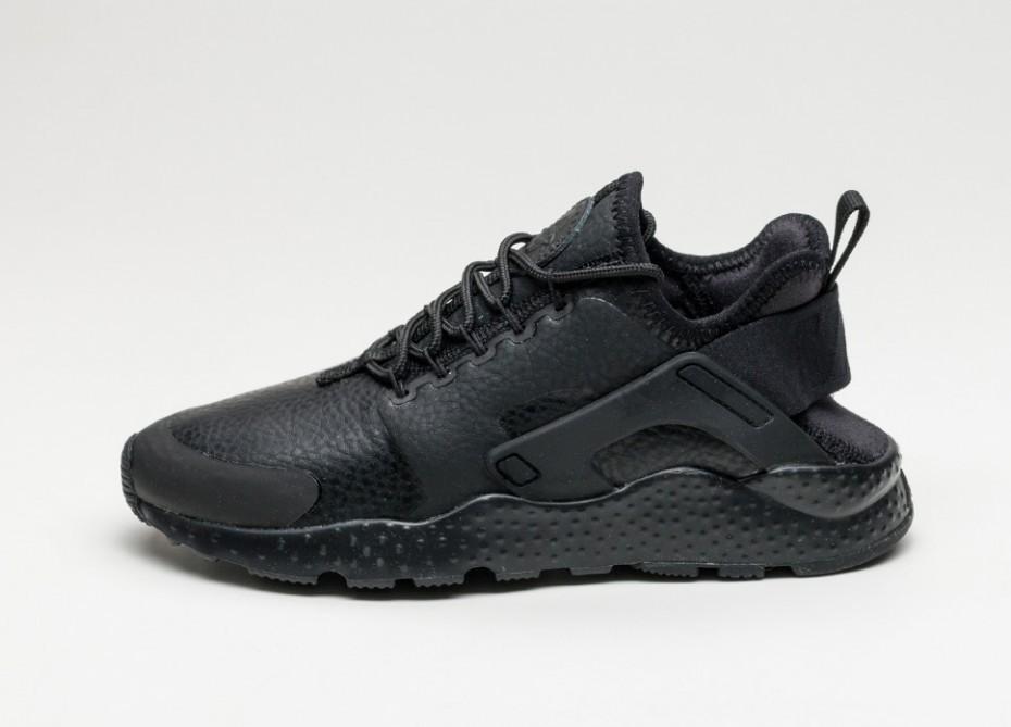 f2b1836a Женские кроссовки Nike Wmns Air Huarache Run Ultra PRM (Black / Black)    Интернет