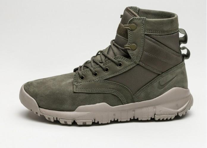 "Мужские кроссовки Nike SFB 6"" NSW Leather (Cargo Khaki / Cargo Khaki - Light Taupe) | Интернет-магазин Sole"
