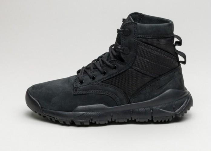 "Женские кроссовки Nike Wmns SFB 6"" NSW Leather (Black / Black - Black)   Интернет-магазин Sole"