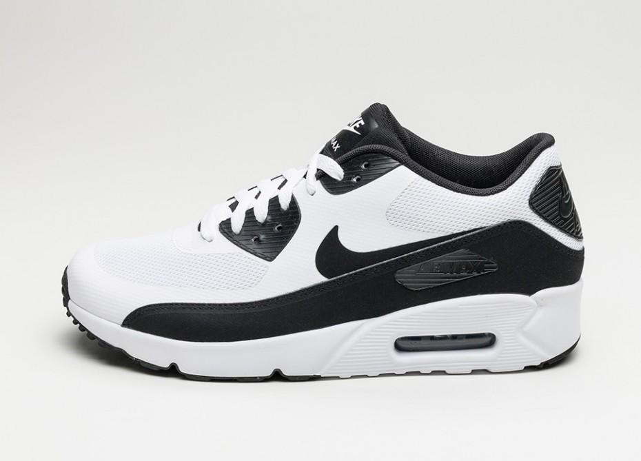 e9645601 Мужские кроссовки Nike Air Max 90 Ultra 2.0 Essential (White / Black - White )