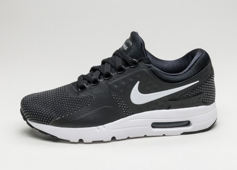 902905c1 Мужские кроссовки Nike Air Max Zero Essential (Black / White - Dark Grey)