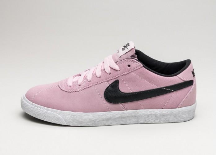 Мужские кроссовки Nike Bruin SB Zoom Premium SE (Prism Pink / Black - White)   Интернет-магазин Sole