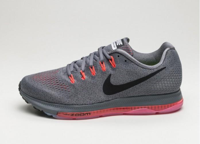 Мужские кроссовки Nike Zoom All Out Low (Dark Grey / Black - Bright Crimson - White) | Интернет-магазин Sole