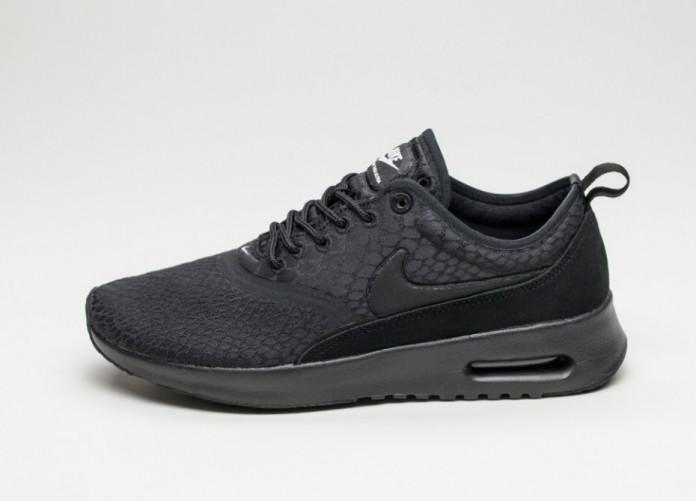 Женские кроссовки Nike Wmns Air Max Thea Ultra SE (Black / Black - White)   Интернет-магазин Sole