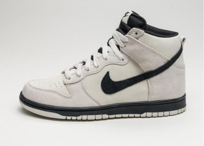 2c4d4112 Мужские кроссовки Nike Dunk Hi (Light Bone / Black) | Интернет-магазин Sole
