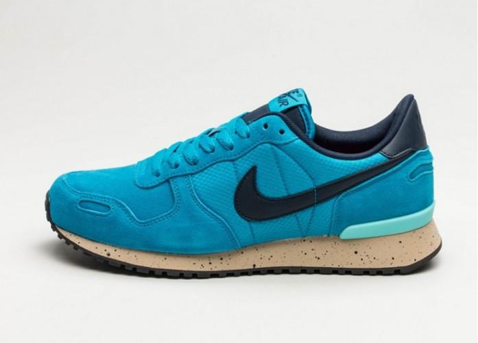 Мужские кроссовки Nike Air Vortex Leather (Light Blue Lacquer / Obsidian - Aurora Green) | Интернет-магазин Sole