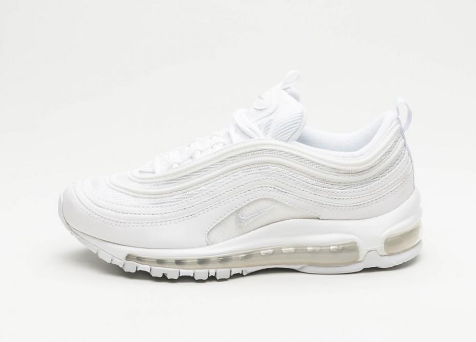 100a34e6 Мужские кроссовки Nike Wmns Air Max 97 (White / White - Pure Platinum)