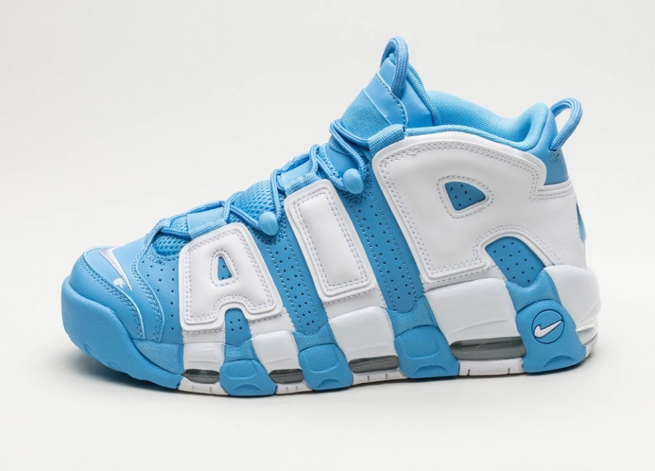 wiele kolorów spotykać się trampki Мужские кроссовки Nike Air More Uptempo '96 (University Blue / White)