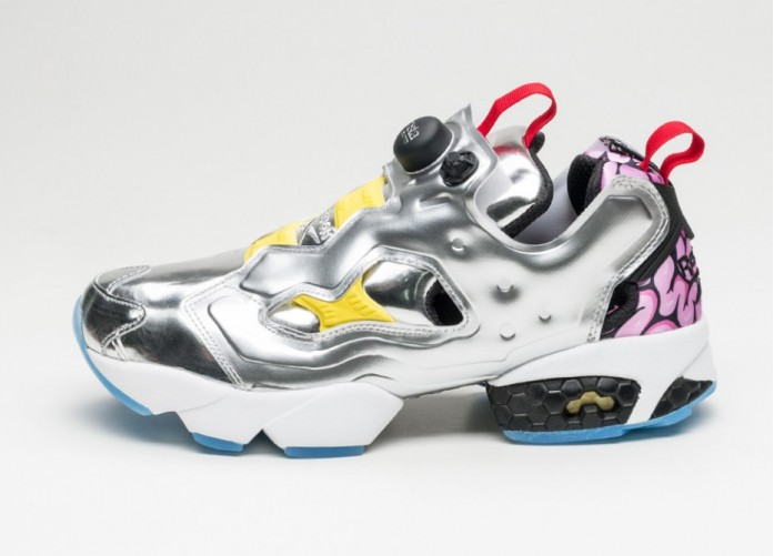 Мужские кроссовки Reebok Instapump Fury OG Villains *Krang* (Silver Metallic / Black / Bright Yellow / Scarlet - Ice) | Интернет-магазин Sole