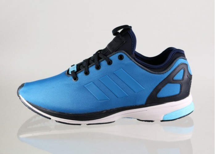 Мужские кроссовки adidas ZX FLUX Tech NPS (Hero Blue / Hero Blue / Black) | Интернет-магазин Sole