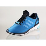 Мужские кроссовки adidas ZX FLUX Tech NPS (Hero Blue / Hero Blue / Black), фото 2 | Интернет-магазин Sole