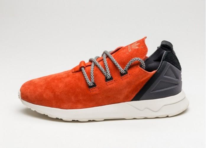 Мужские кроссовки adidas ZX Flux ADV X (Craft Chili / Craft Chili / Core Black)   Интернет-магазин Sole