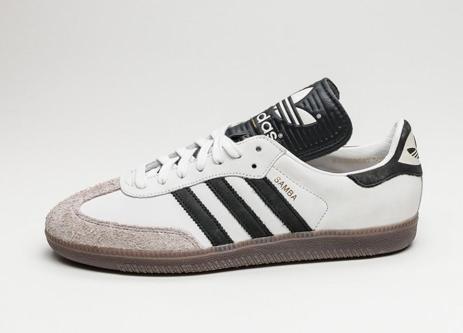Мужские кроссовки adidas Samba Classic OG  Made in Germany  (Vintage White    Core 597d048ad60