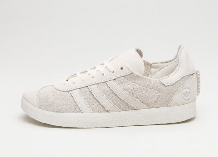 Мужские кроссовки adidas x Wings + Horns Gazelle OG (Off White / Off White / Off White) | Интернет-магазин Sole