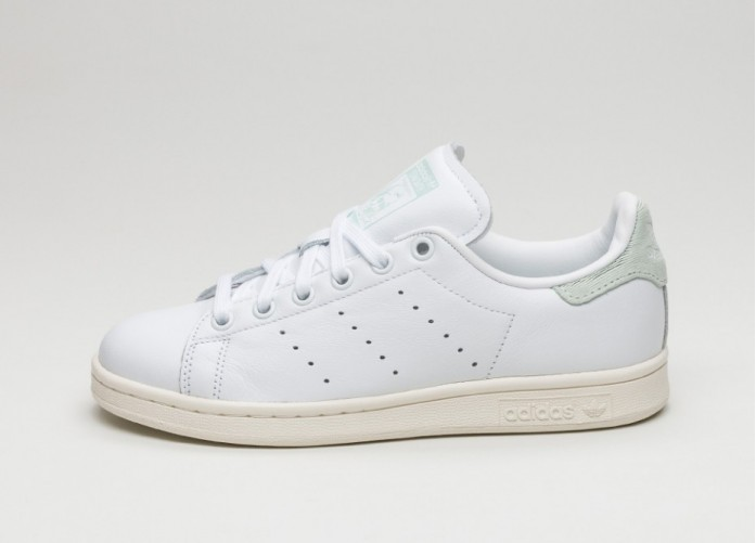 Мужские кроссовки adidas Stan Smith W (Ftwr White / Ftwr White / Vapour Green) | Интернет-магазин Sole