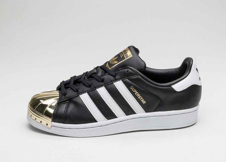 cecd0c26688e Мужские кроссовки adidas Superstar Metal Toe W (Core Black / Ftwr ...