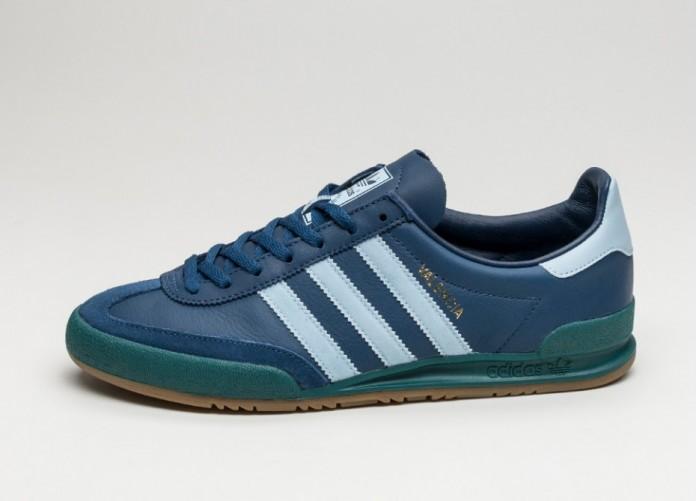 Мужские кроссовки adidas Jeans City Series *Valencia* (Mystic Blue / Easy Blue / Mystic Green)   Интернет-магазин Sole